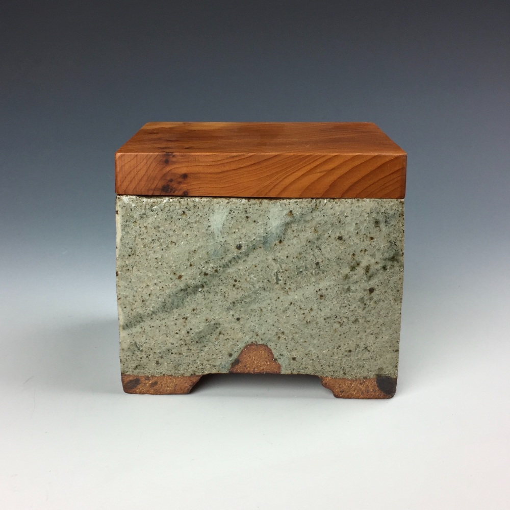 Celadon with Yew lid