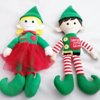 Keepsake Christmas elf