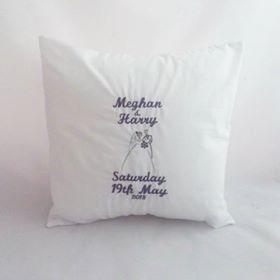 Mr & Mrs Wedding Cushion