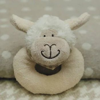 Sheep baby rattle