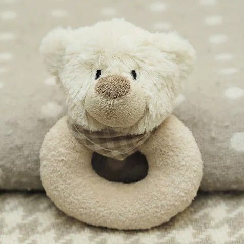 Bear baby rattle
