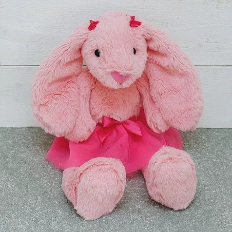 Pink tutu ballerina bunny