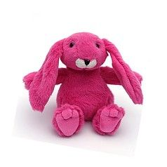 Mini snuggly bunny pink