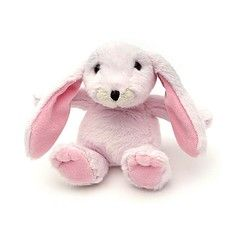Mini snuggly bunny baby pink