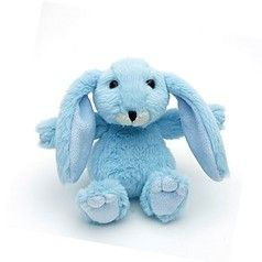 Mini snuggly bunny blue