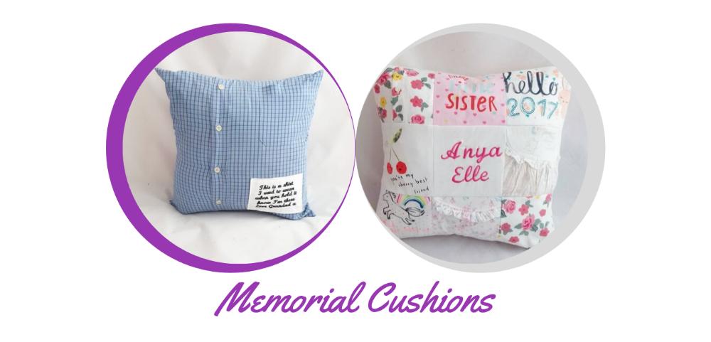 <!--001-->Memorial Cushions