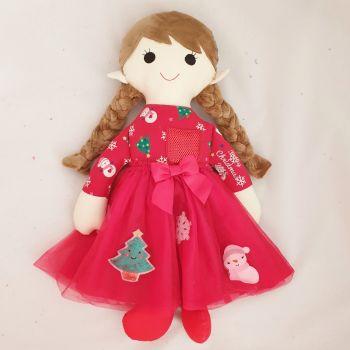 Keepsake Christmas doll