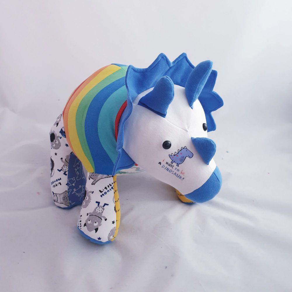 Triceratops memory bear