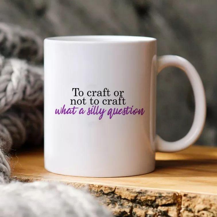 To craft or not to craft mug