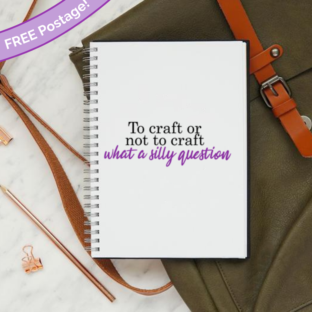 To craft or not to craft notebook