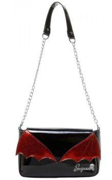 Bat Wing Clutch Bag Red