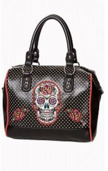 Dia de Muertos Bag Black BG7184
