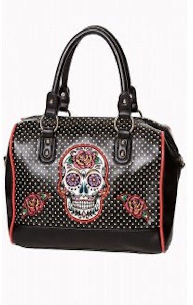 Dia de Muertos Bag Black