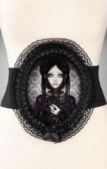 Grey Doll Waist Belt