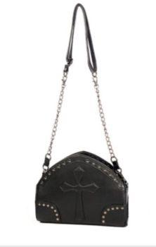 Black Cross Shoulder Bag BBN768
