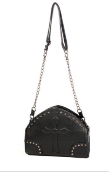 Black Cross Shoulder Bag