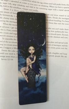 Heavenly Nightshade Wooden Bookmark