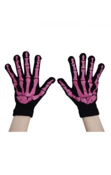 BGG Gloves- Black and Pink