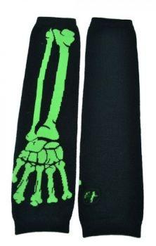 Bone Armwarmers- Green