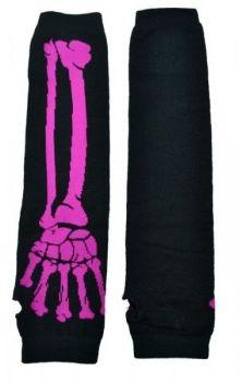 Bone Armwarmers- Pink