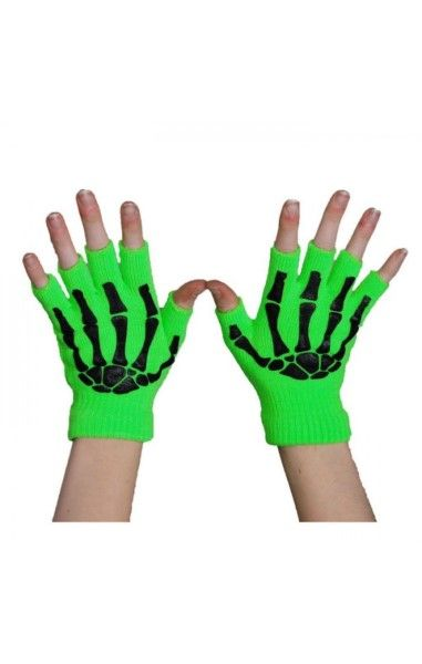 BGS Fingerless Gloves- Green