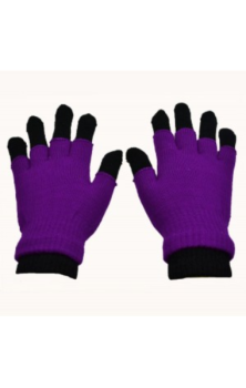 Double Gloves- Purple