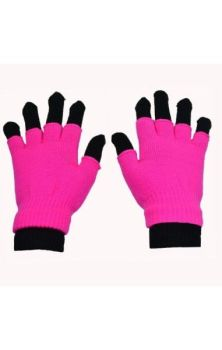 Double Gloves- Pink