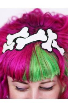 Glitter Bones Headband