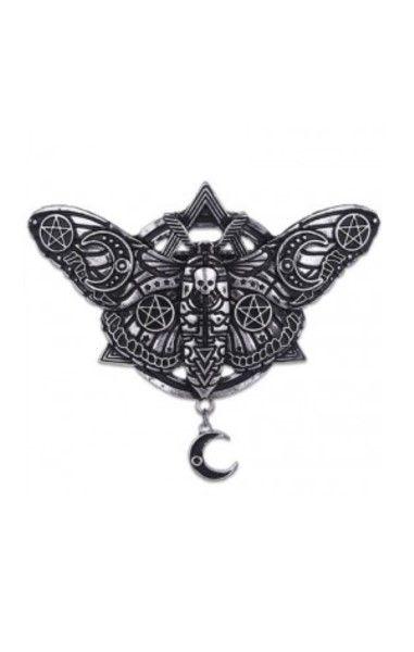 Occult Moth Hairclip