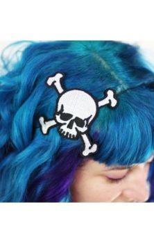 Skull and Crossbones Hairband