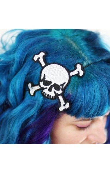 Skull and Crossbones Hairband