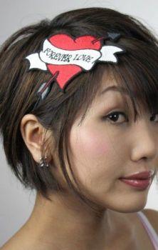 Tattoo Heart Headband