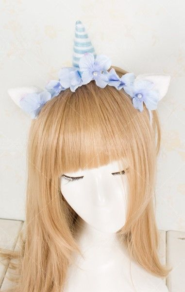 Unicorn Hairband- Pink