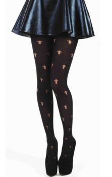 Opaque Cross Tights