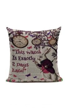2 Days Late Cushion Cover