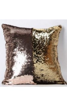 Mermaid Cushion Cover- Rose/Gold