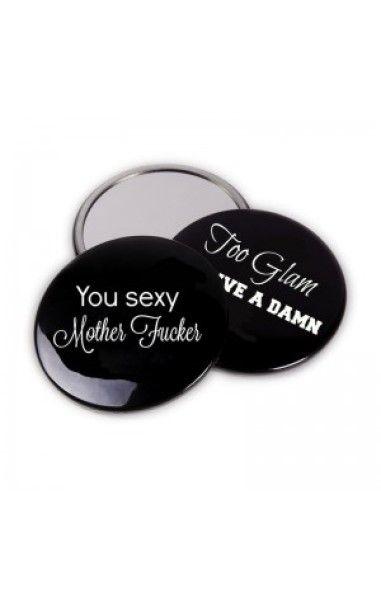 Sexy Mother Fucker Pocket Mirror