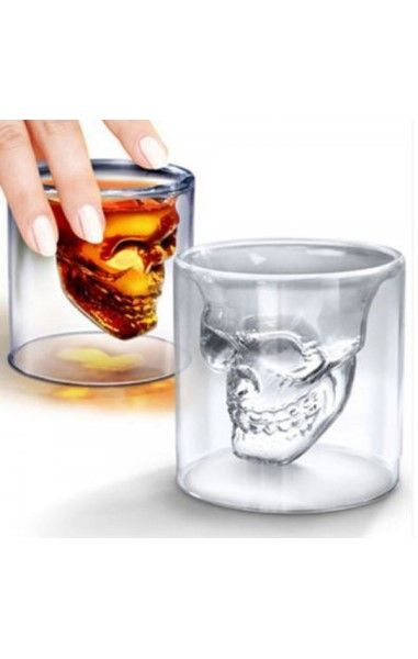 Doomed Skull Shot Glass 150ml