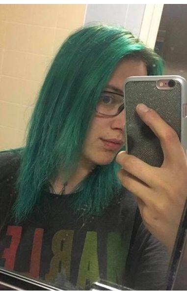 Inflashy Colours Green - Salon Quality Dye 150 ml