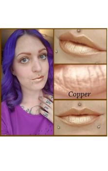 Copper Unicorn Goo Metallic Lipstick