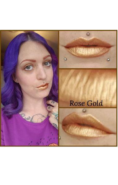 Rose Gold Unicorn Goo Metallic Lipstick