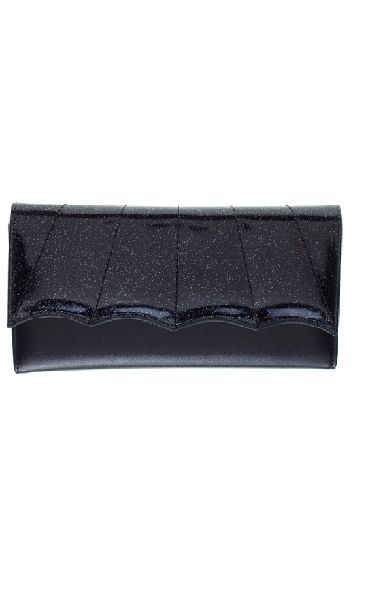 Bat Wing Wallet Black