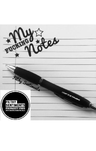 I Cunt Stop Swearing Pen