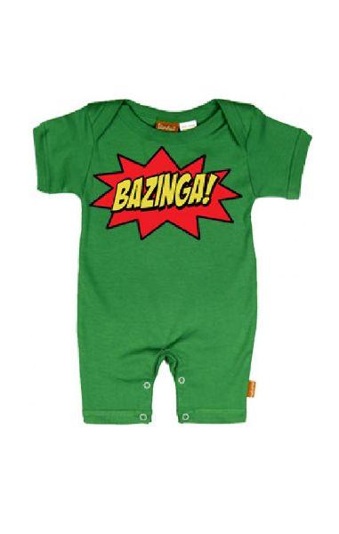 BAZINGA Baby Romper
