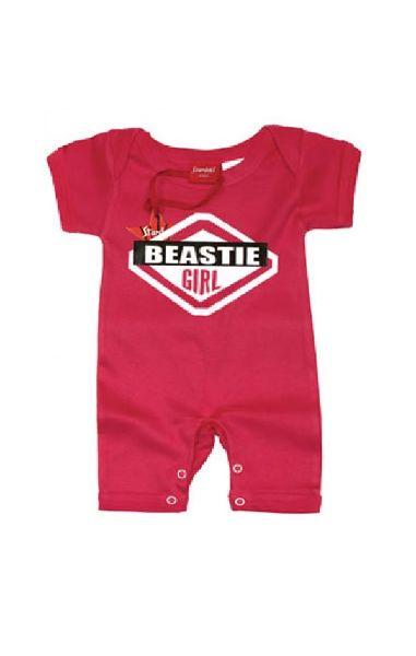 Beastie Girl Baby Romper