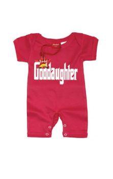 Goddaughter Baby Romper