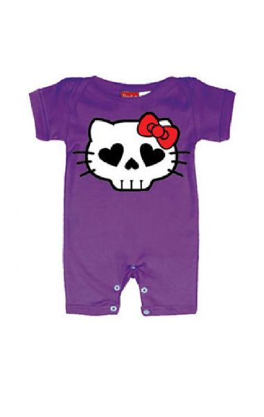 Hell Kitty Baby Romper