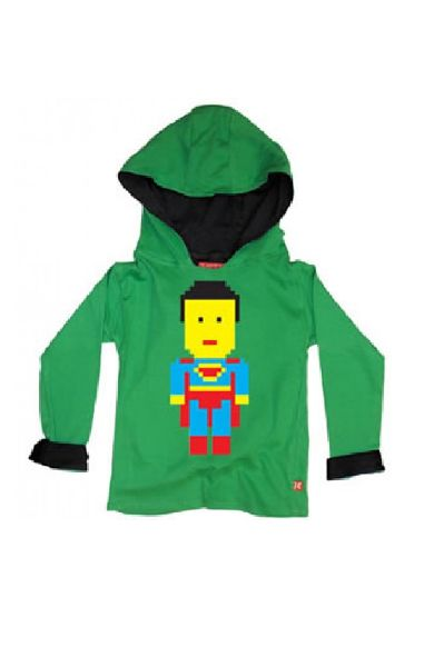 Lego Superman Boys Hood