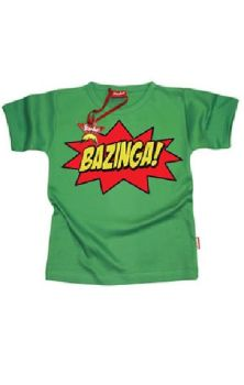 Bazinga Boys T Shirt
