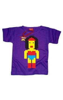 Lego Wonder Woman Boys T Shirt